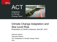Harford Climate Change talk