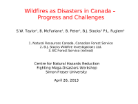Taylor Wildfire Catastrophies